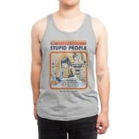 A Cure for Stupid People - mens-jersey-tank - small view