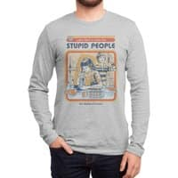 A Cure for Stupid People - mens-long-sleeve-tee - small view