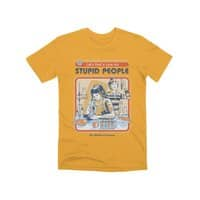 A Cure for Stupid People - mens-premium-tee - small view