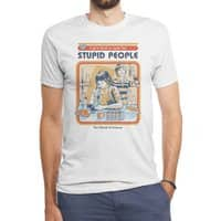 A Cure for Stupid People - mens-triblend-tee - small view