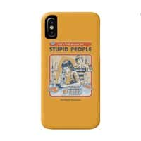 A Cure for Stupid People - perfect-fit-phone-case - small view