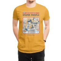 A Cure for Stupid People - mens-regular-tee - small view