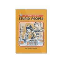 A Cure for Stupid People - vertical-mounted-acrylic-print - small view