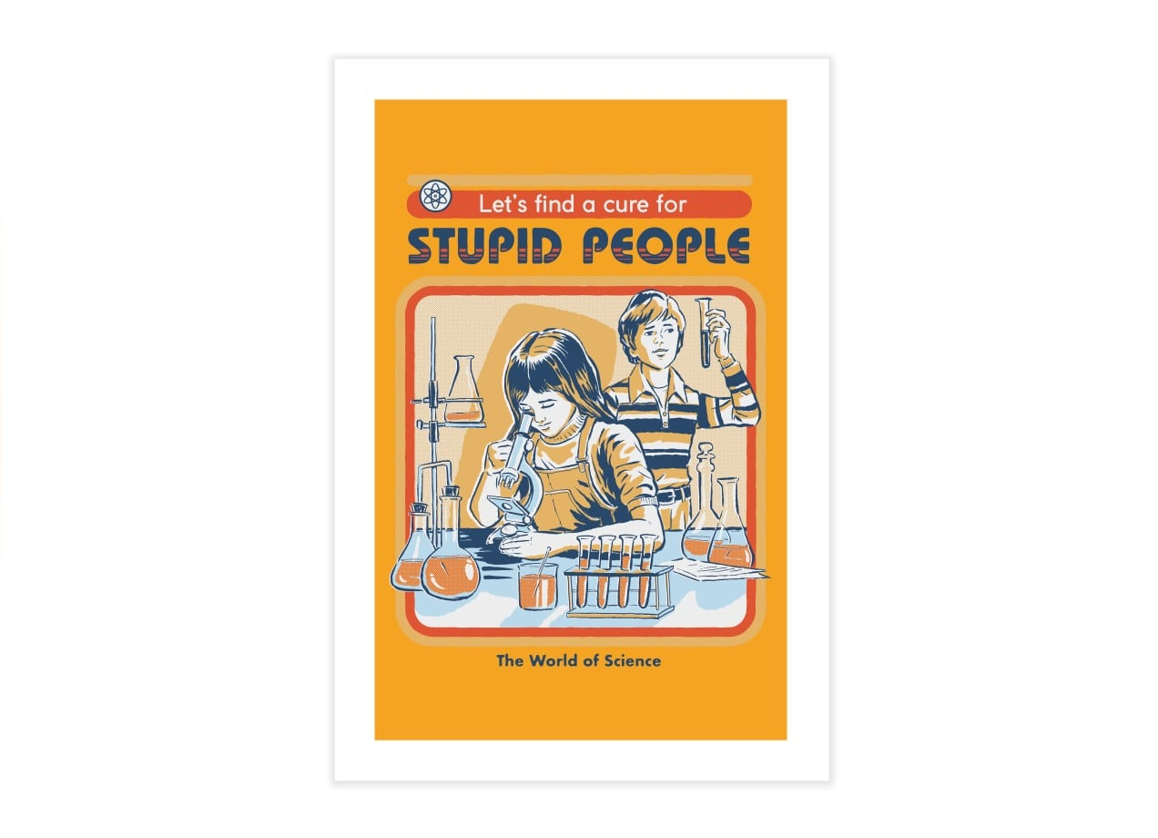 79326b4cee3 A Cure for Stupid People by Steven Rhodes