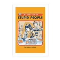 A Cure for Stupid People - vertical-print - small view