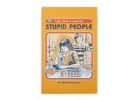 A Cure for Stupid People - vertical-stretched-canvas - small view