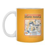 A Cure for Stupid People - white-mug - small view