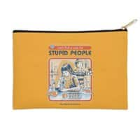 A Cure for Stupid People - zip-pouch - small view