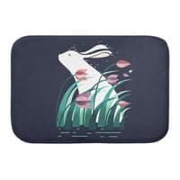 Rabbit, Resting - bath-mat - small view
