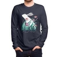 Rabbit, Resting - mens-long-sleeve-tee - small view