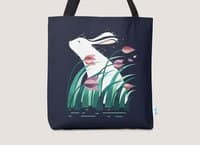 Rabbit, Resting - tote-bag - small view