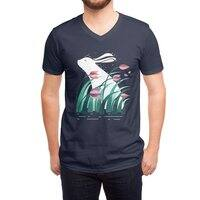 Rabbit, Resting - vneck - small view