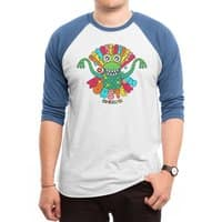 Groovy Rubber Monsters - triblend-34-sleeve-raglan-tee - small view