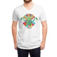 Groovy Rubber Monsters - vneck - small view