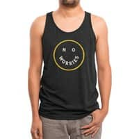 No Worries - mens-triblend-tank - small view