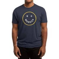 No Worries - mens-triblend-tee - small view