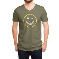 No Worries - vneck - small view