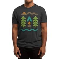 Simple Pleasures - mens-triblend-tee - small view