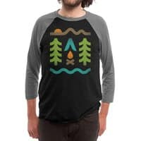 Simple Pleasures - triblend-34-sleeve-raglan-tee - small view