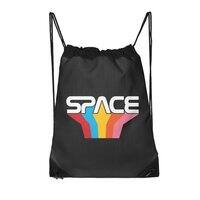 Space Text - drawstring-bag - small view