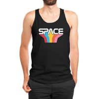 Space Text - mens-jersey-tank - small view