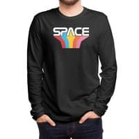 Space Text - mens-long-sleeve-tee - small view
