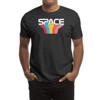 Space Text - mens-regular-tee - small view