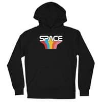 Space Text - unisex-lightweight-pullover-hoody - small view