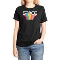 Space Text - womens-extra-soft-tee - small view