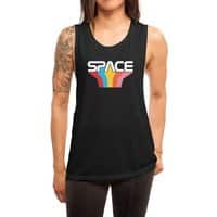 Space Text - womens-muscle-tank - small view