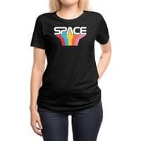 Space Text - womens-regular-tee - small view