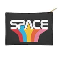 Space Text - zip-pouch - small view