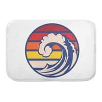 Ride the Wave - bath-mat - small view