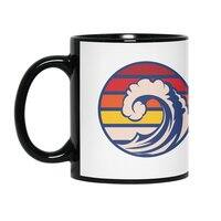 Ride the Wave - black-mug - small view