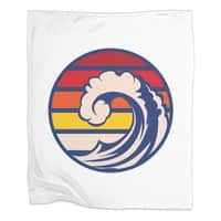 Ride the Wave - blanket - small view