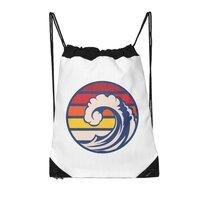 Ride the Wave - drawstring-bag - small view