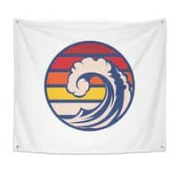 Ride the Wave - indoor-wall-tapestry - small view