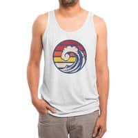 Ride the Wave - mens-triblend-tank - small view