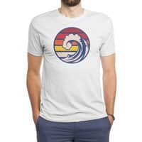 Ride the Wave - mens-triblend-tee - small view