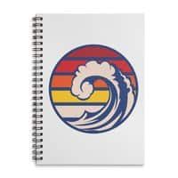 Ride the Wave - spiral-notebook - small view
