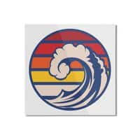 Ride the Wave - square-mounted-aluminum-print - small view