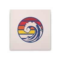 Ride the Wave - square-stretched-canvas - small view