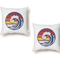 Ride the Wave - throw-pillow - small view