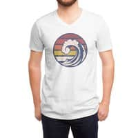 Ride the Wave - vneck - small view