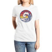 Ride the Wave - womens-extra-soft-tee - small view
