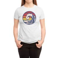 Ride the Wave - womens-triblend-tee - small view