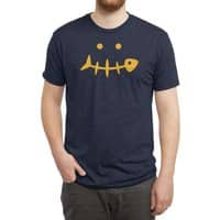 Fish Face - mens-triblend-tee - small view