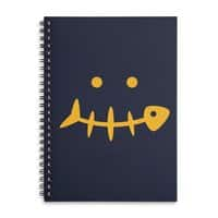 Fish Face - spiral-notebook - small view