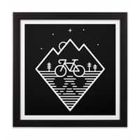 Bike Dreams - black-square-framed-print - small view
