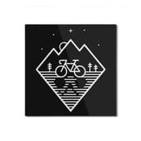 Bike Dreams - square-mounted-aluminum-print - small view